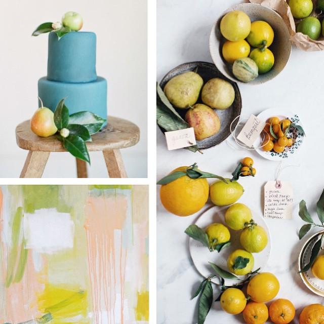 Citrus color board
