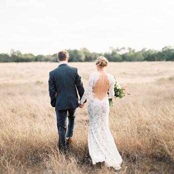 Organic Hill Country Wedding