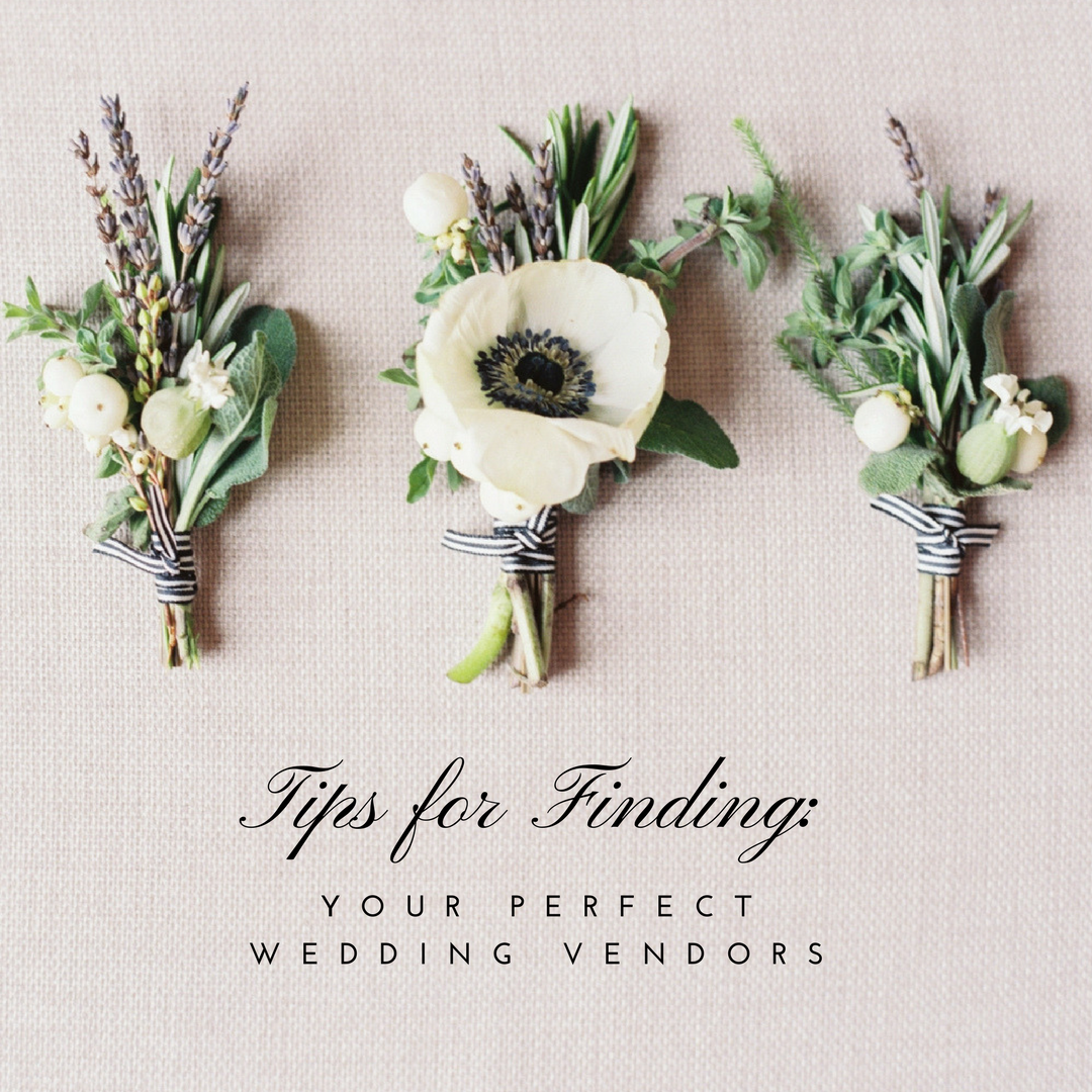 How To Find And Hire Your Perfect Team Of Wedding Vendors